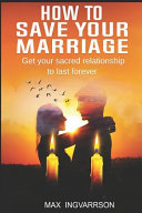 How to Save Your Marriage Book