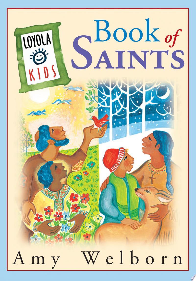 Loyola Kids Book of Saints banner backdrop
