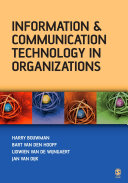 Information and Communication Technology in Organizations