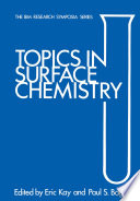 Topics in Surface Chemistry Book