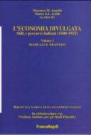 L'economia divulgata: Manuali e trattati