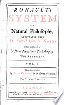 Rohault S System Of Natural Philosophy