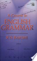 Course In English Grammar A