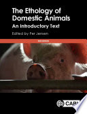 The Ethology of Domestic Animals Book