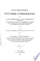 Scott Browne s Text book of Phonography