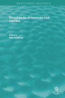 Encyclopedia of American Civil Liberties Pdf/ePub eBook