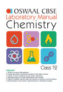 Oswaal CBSE Laboratory Manual Class 12 Chemistry Book  For 2021 Exam