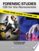 Forensic Studies Csi For The Nonscientist Book PDF