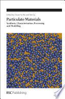 Particulate Materials