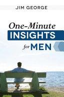 One-Minute Insights for Men Pdf/ePub eBook