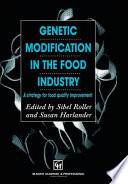 Genetic Modification In The Food Industry Book PDF