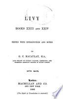 Ab Urbe Condita Books 23 24