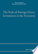 The Role of Foreign Direct Investment in the Economy
