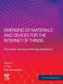 Emerging 2D Materials and Devices for the Internet of Things