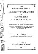 The Illustrated Annual Register of Rural Affairs and Cultivator Almanac for the Year