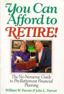 You Can Afford to Retire  Book