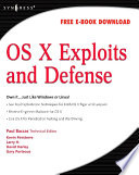 Os X Exploits And Defense Book PDF
