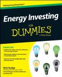 Energy Investing For Dummies Pdf/ePub eBook