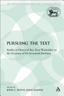 Pursuing the Text [Pdf/ePub] eBook