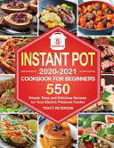 Instant Pot Cookbook for Beginners Book
