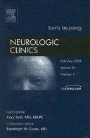 Sports Neurology Book