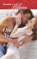 One Blazing Night ebook