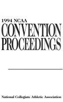 NCAA Convention Proceedings