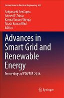 Advances in Smart Grid and Renewable Energy Book