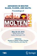 Advances in Molten Slags, Fluxes, and Salts Pdf/ePub eBook