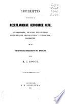 Beschrijvende catalogus der pamfletten-verzameling van de boekerij der Remonstrantsche Kerk te Amsterdam