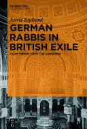 German rabbis in British exile: from 'Heimat' into the unknown