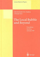 The Local Bubble and Beyond