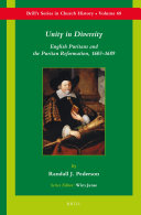 Unity in Diversity: English Puritans and the Puritan ...