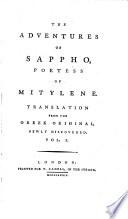 The Adventures of Sappho, Poetess of Mitylene