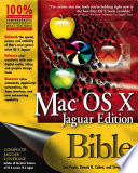 Mac OS X Bible, Jaguar Edition