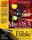 Mac OS X Bible  Jaguar Edition Book