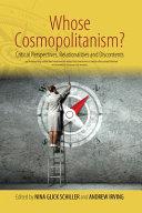 Whose Cosmopolitanism  Book