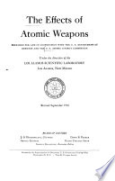 The Effects of Atomic Weapons