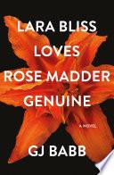Lara Bliss Loves Rose Madder Genuine