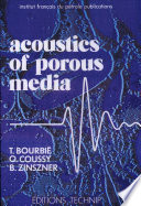 Acoustics of Porous Media