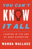 You Can't Know It All [Pdf/ePub] eBook