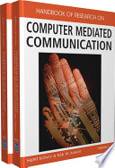 Handbook of Research on Computer Mediated Communication Book