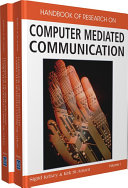 Pdf Handbook of Research on Computer Mediated Communication