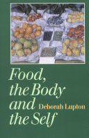 Pdf Food, the Body and the Self Telecharger