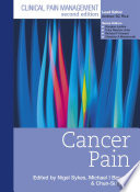 Clinical Pain Management Second Edition: Cancer Pain  , Volume 3