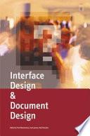 Interface Design   Document Design Book