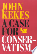 A Case for Conservatism Book
