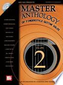 Master Anthology of Fingerstyle Guitar Solos  Volume 2