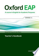 Oxford EAP: Advanced/C1: Teacher's Handbook Pack (with DVD and audio CD)