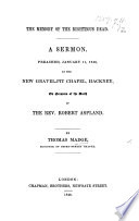 The Memory of the Righteous Dead  a Sermon  on Hebr  Xiii  7      on Occasion of the Death of the Rev  R  Aspland Book